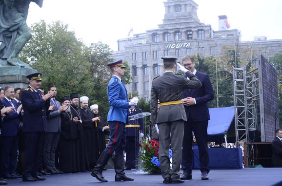 Predsednik Vučić uručio priznanja najboljima