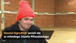 Dawid Ogrodnik zagra Józefa Piłsudskiego