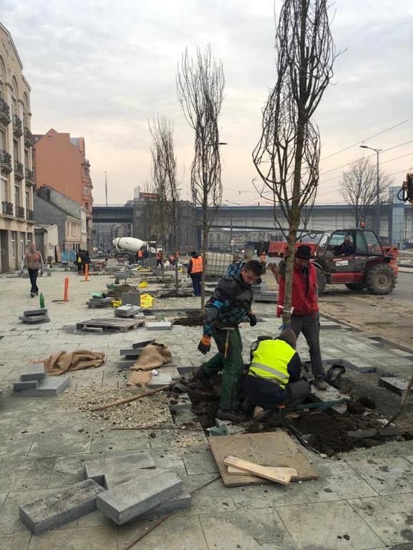 Završetak radova u Karađorđevoj planiran je za 31. januar