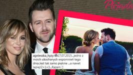 Agnieszka Hyży świętuje rocznicę ślubu. Opis do zdjęcia zmylił fanów pary