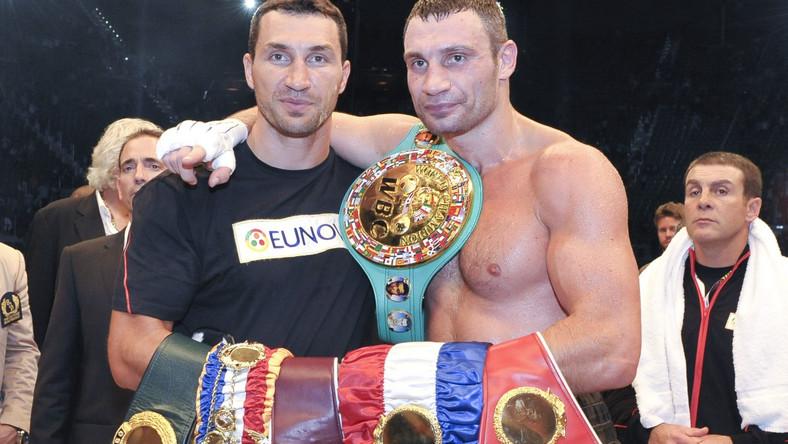 Władimir i Witalij Kliczkowie