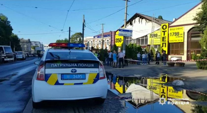 Ukraina: Pożar hotelu w Odessie. Są ofiary i ranni