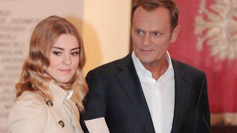 Premier z córką