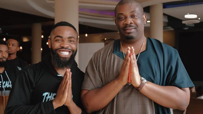 Woli Arole and Don Jazzy recently saw the movie, 'The Call' together.