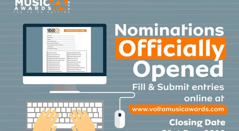 Volta Music Awards 2020 launched; nominations open