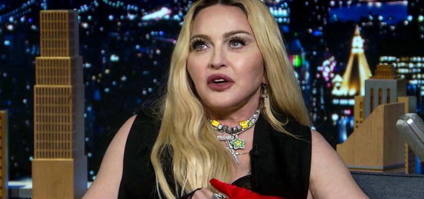 Madonna wywołała skandal w popularnym talk-show. Prowadzący zakrył ją marynarka