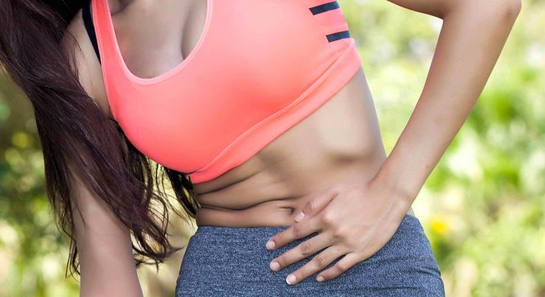 A bad tummy can crumple your style.