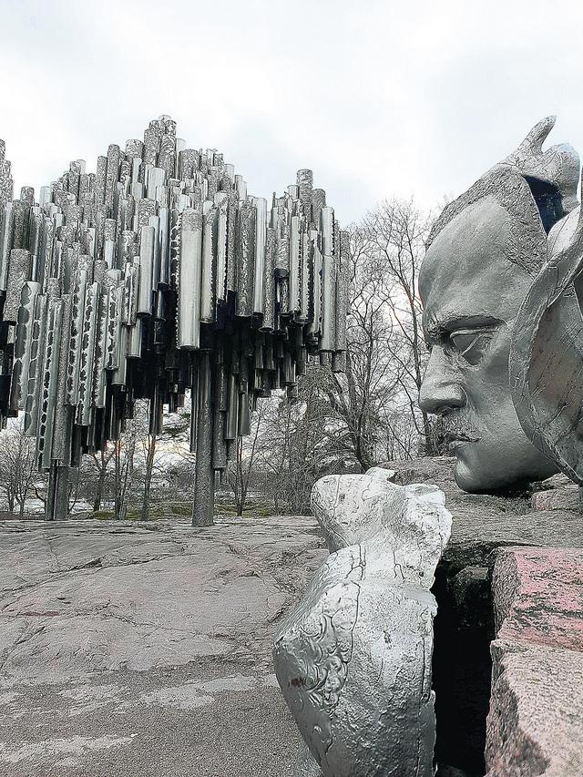 Spomenik u čast velikog kompozitora
