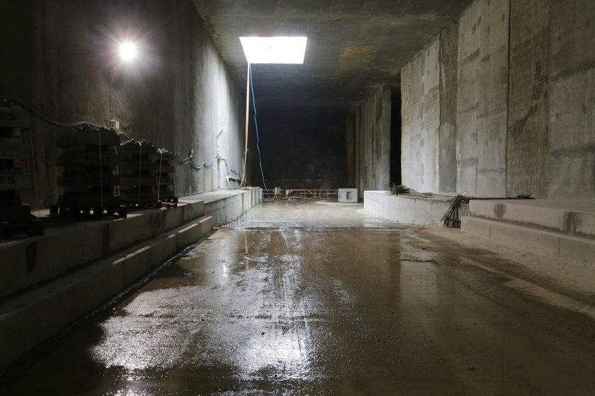 budowa tunelu do Dworca Fabrycznego w Łodzi