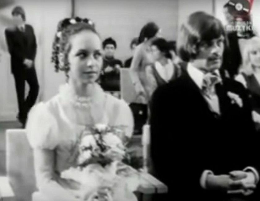 Ślub Małgorzaty Potockiej i Krzysztofa Potockiego