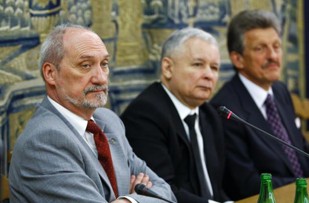 Antonie Macierewicz i Jarosław Kaczyński