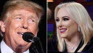 Former President Donald Trump has described Meghan McCain as a low-life and a bully.