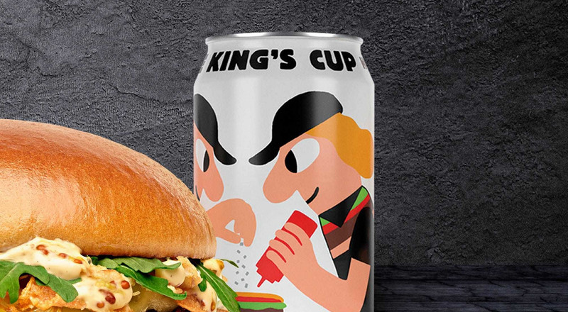 Burger King is teaming up with a trendy craft brewer to make its own nonalcoholic beer in Denmark and Sweden