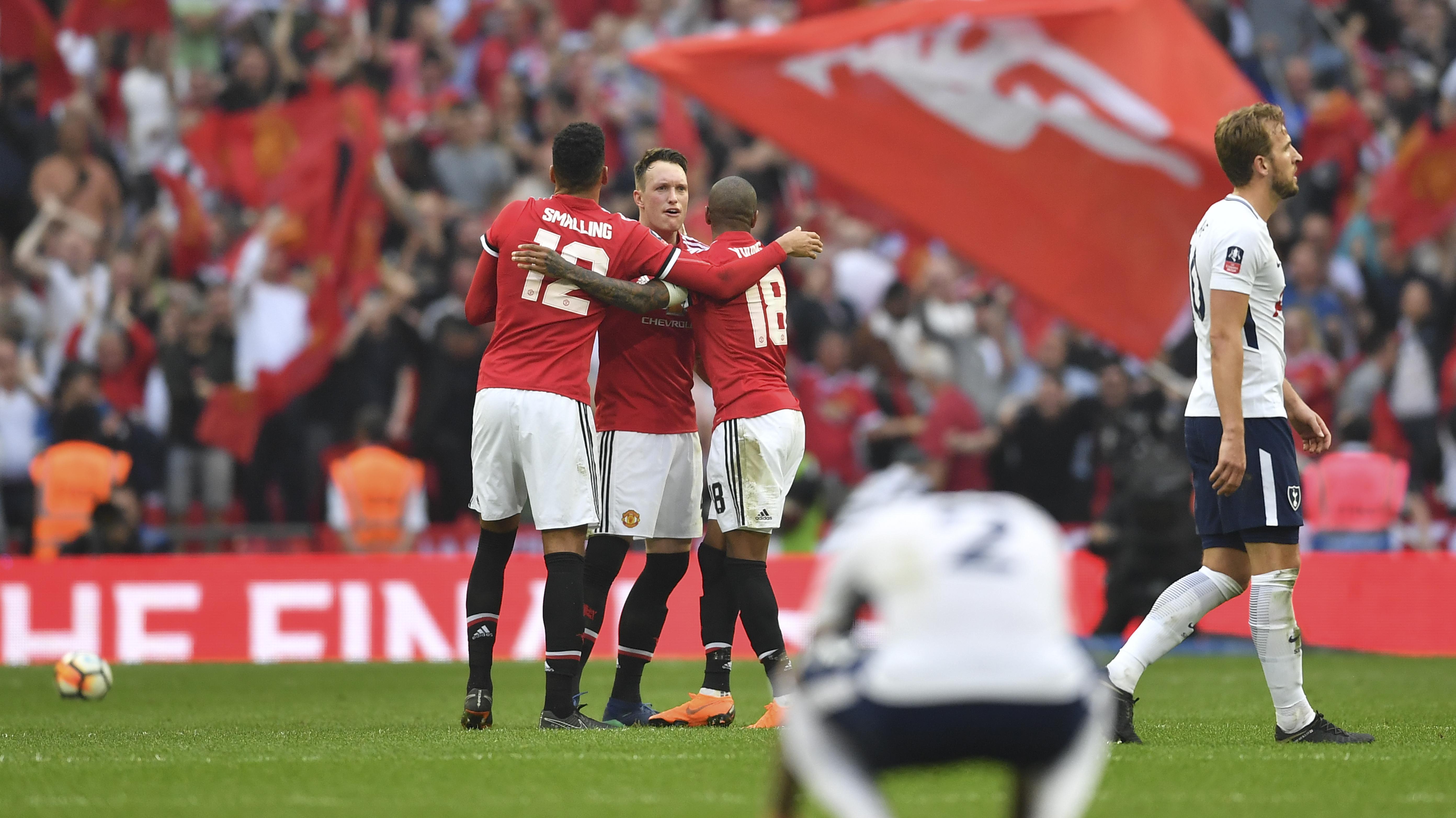 7be3c9f1d Manchester United pokonał Tottenham i zagra w finale Pucharu Anglii -  Premier League