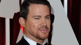 """Channing Tatum na planie filmu """"Kingsman 2"""" w Londynie"""