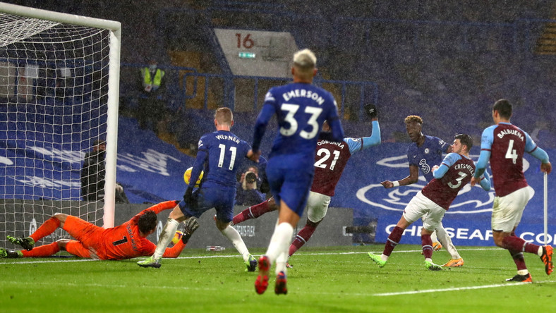 Chelsea pokonało West Ham United