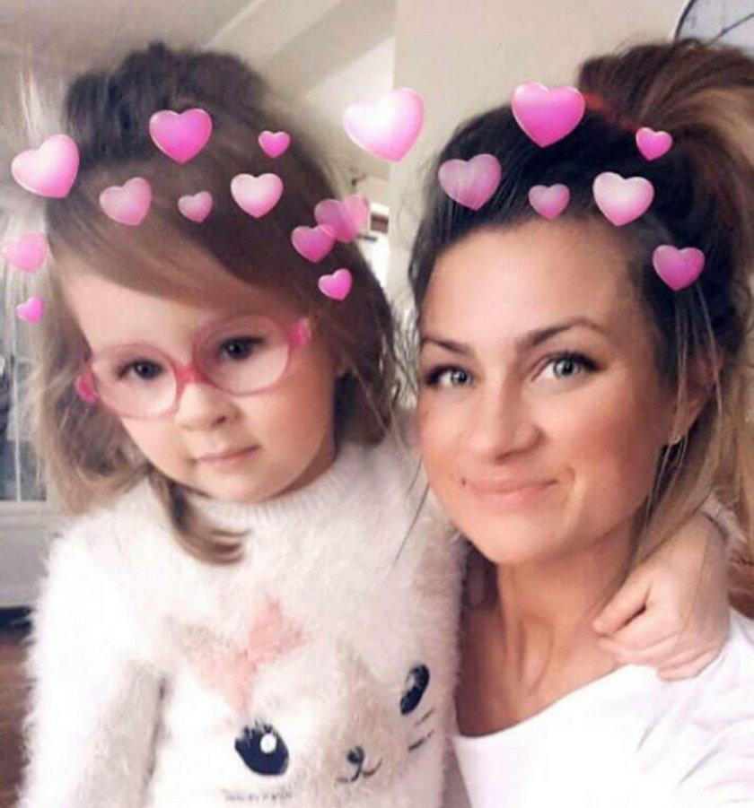 27-letnia Patrycja i jej córeczka Zosia