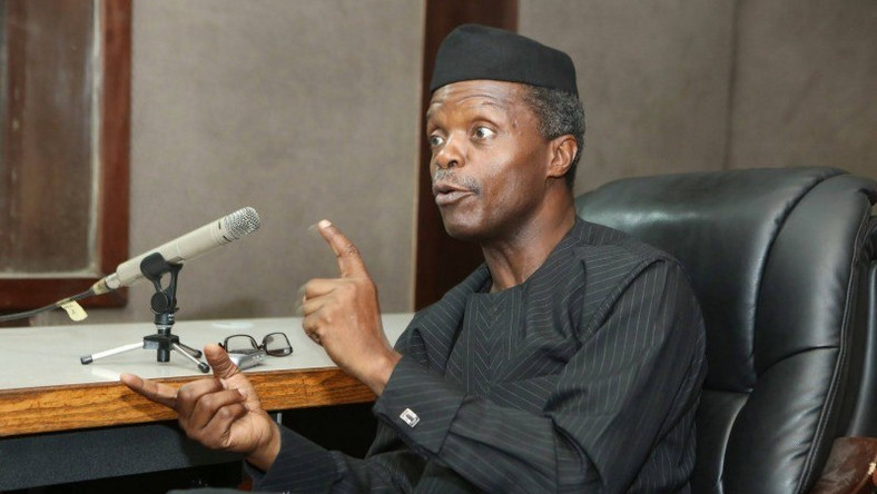 Vice President Yemi Osinbajo has frowned at bribes for licenses, passports, clearing of goods [Legit]