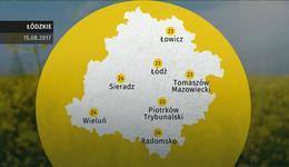 Prognoza pogody dla woj. łódzkiego – 15.08