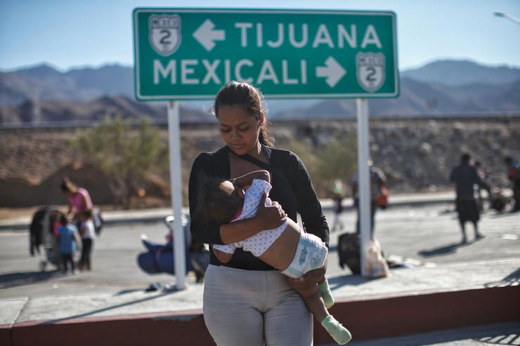 Tihuana migranti SAD  EPA MARIA DE LA LUZ ASENCIO1