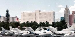 Prywatne samoloty zakorkowały lotnisko w Las Vegas