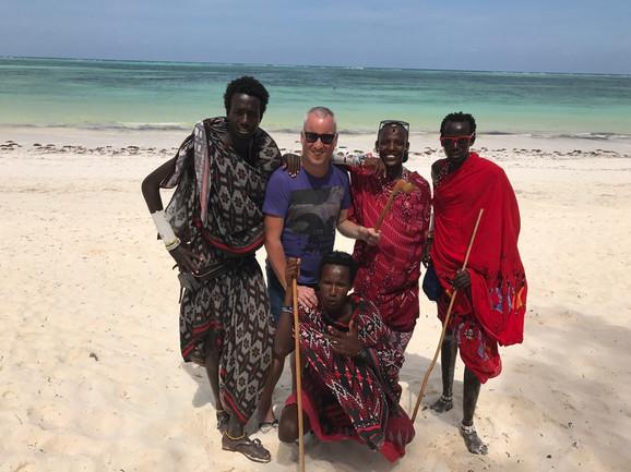 Saša Matić u Zanzibaru