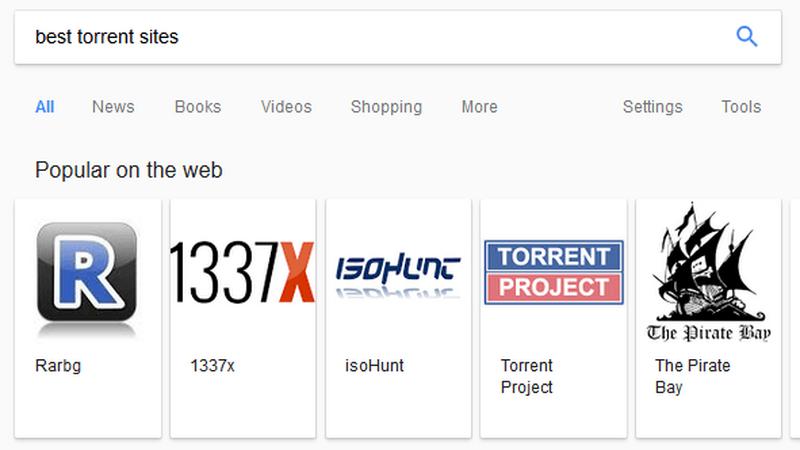 Wyszukiwarka Google przez błąd promowała pirackie serwisy