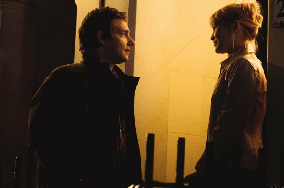 """Martin Freeman i Joanna Page w filmie """"To właśnie miłość"""""""