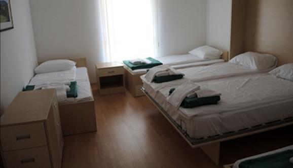 Dom trubača raspolaže sa 27 soba i 162 ležaja