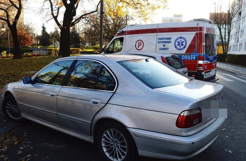 Wypadek w Głogowie