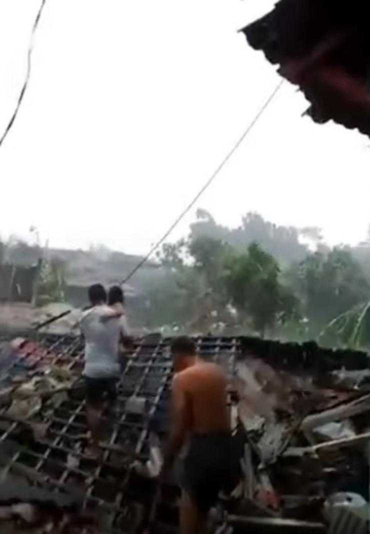 Sumatra tornado