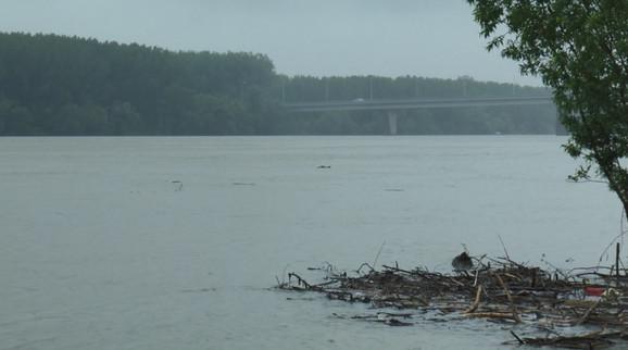 Ovako jutros izgleda reka Sava kod Šapca