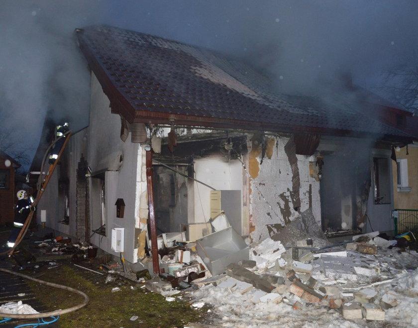 Wybuch gazu w Podedworzu. Matka i jej dzieci są poważnie ranni