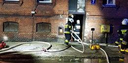 Pożar kamienicy w Lęborku. Zmarła 16-letnia Agata