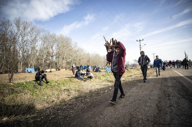 Migranti na grčko-turskoj granici