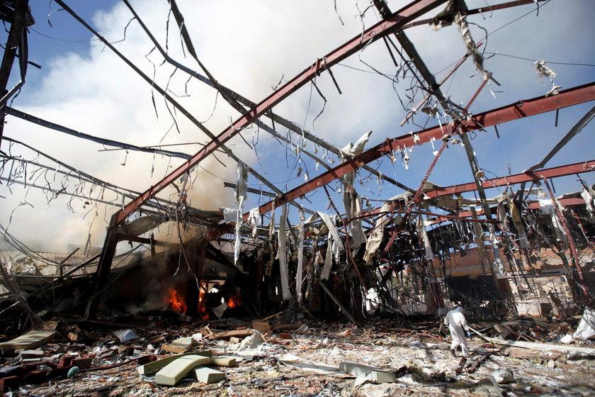 O atak oskarżana jest międzynarodowa koalicja pod przewodnictwem Arabii Saudyjskiej