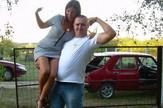 Boris Goridć i Ivana Šapi, policajac, motociklista, Facebook