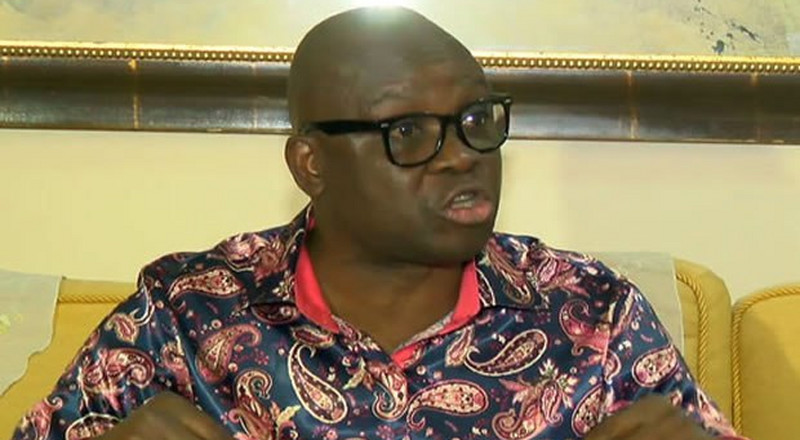 Fayose wants Buhari to sack Akpabio and Pondei, says they celebrated NDDC probe with pepper soup