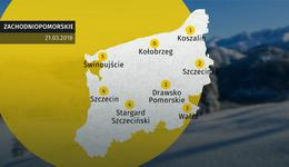 Prognoza pogody dla woj. zachodniopomorskiego - 21.03