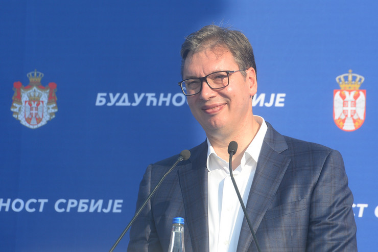 Aleksandar Vučić Sombor foto promo