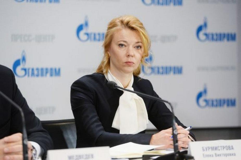 Elena Burmistrowa. Fot. Gazprom