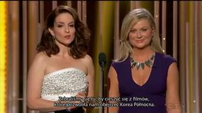 Złote Globy 2015: Amy Poehler i Tina Fey nie oszczędziły nikogo - Flesz Filmowy