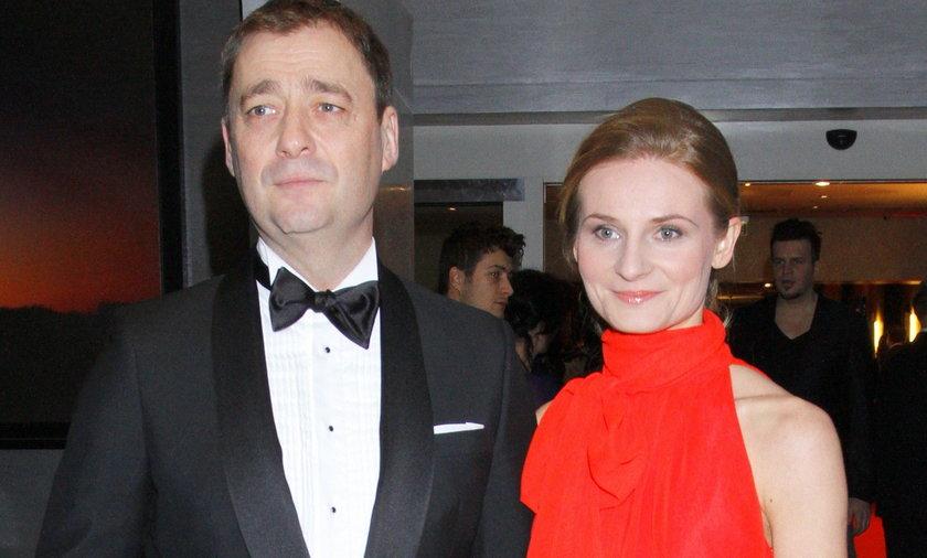 Jacek Rozenek i Anna Wojciechowska