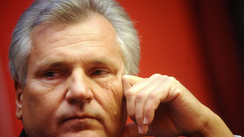 Kwaśniewski: rząd denerwuje prezydenta