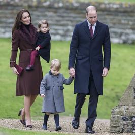 Brytyjska rodzina królewska w kościele. Po raz pierwszy od prawie 30 lat zabrakło królowej Elżbiety II