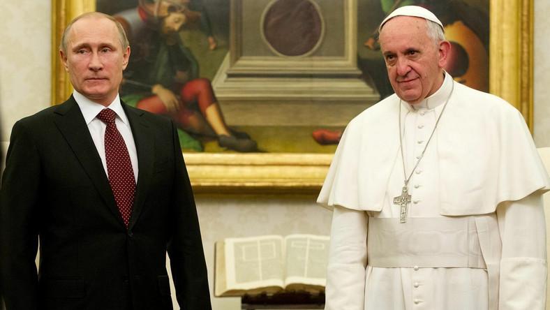 Papież Franciszek Putin