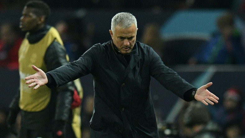 Manchester United manager Jose Mourinho's violent celebrations at a late winner dominated the headlines instead of his side qualifying for the Champions League knockout stages.