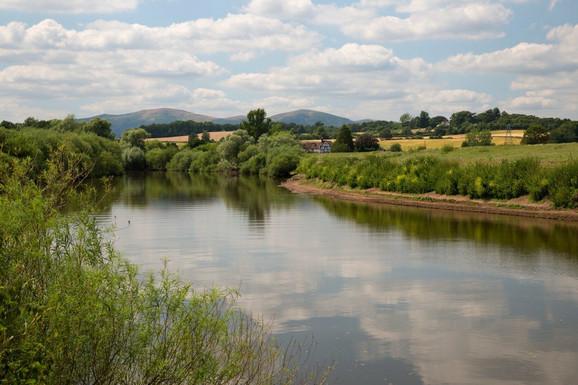 Reka Severn kod Kempsija