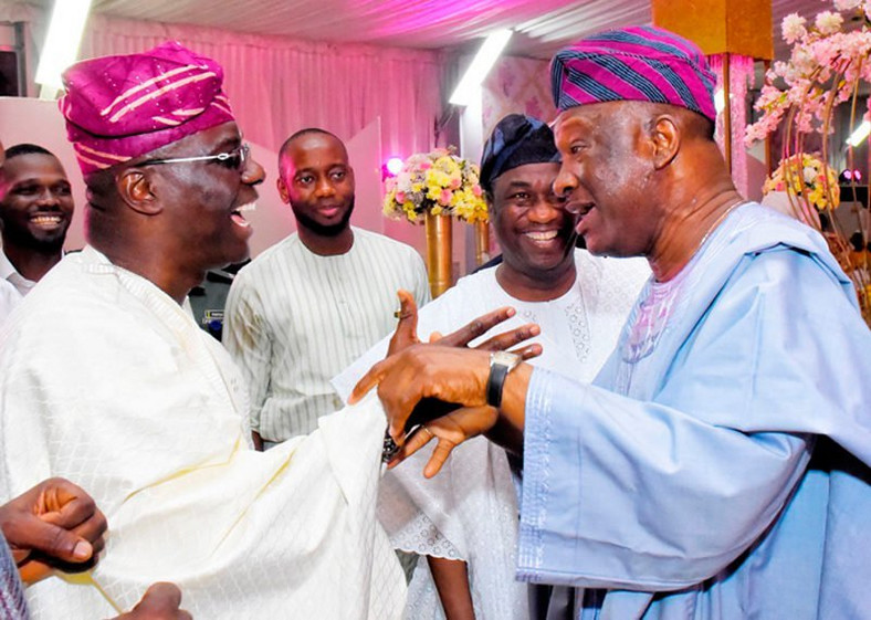 Agbaje (right) suffered heavy defeat in the Lagos State governorship election with Sanwo-Olu (left) emerging governor-elect