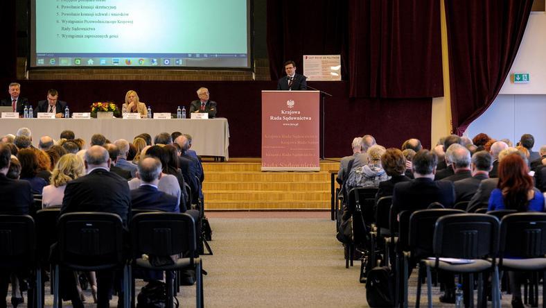 Wczorajsze zebranie przedstawicieli sędziów w Warszawie